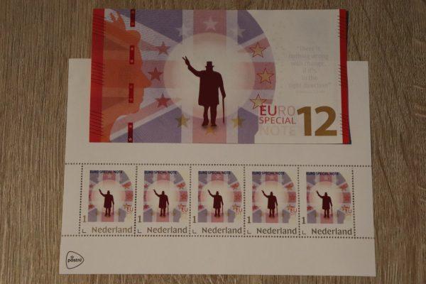 Brexit postzegelvel
