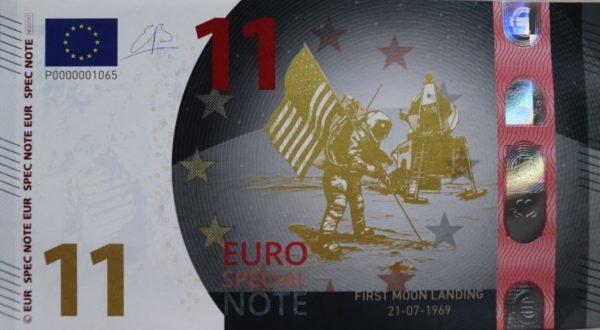 Euro Special Note 50 jaar Maanlanding