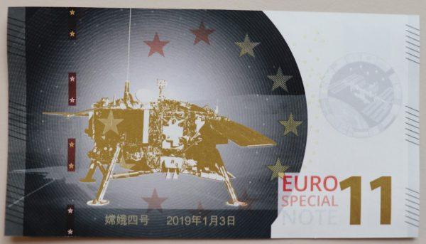 Euro Special Note Maanlanding
