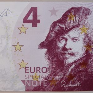 Euro Special Note Rembrandt